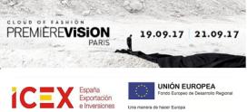 LISTADO de expositores españoles en PREMIERE VISION PARIS Sep. 2017