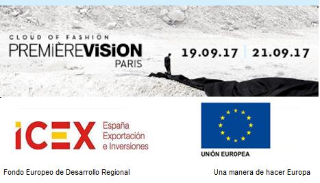 Listado expositores españoles en Première Vision Paris febrero'18