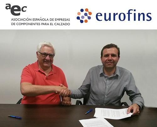 AEC firma un Convenio de Colaboración con EUROFINS Textile Testing Spain