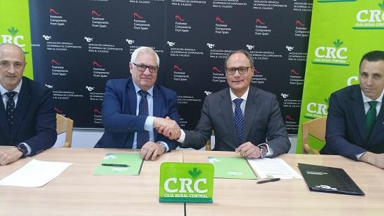 AEC Y CAJA RURAL Central suscriben un Convenio de Colaboración para Financiar   I+D+I en las Empresas