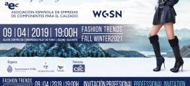Presentacion de Tendencias Otoño/Invierno 2021